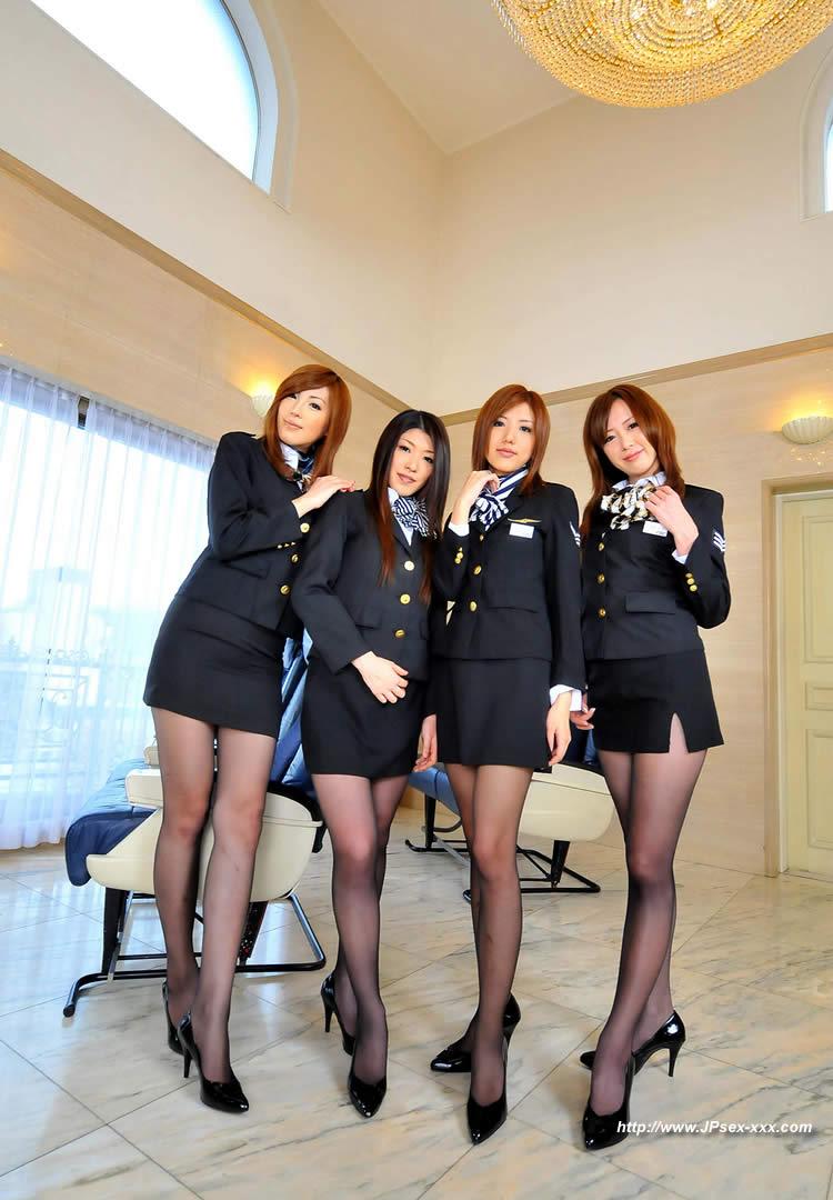stewardess pron