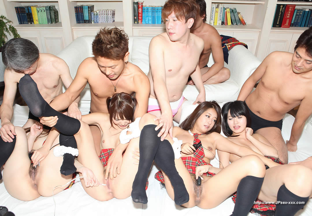 Japanese Group Sex Uncensored