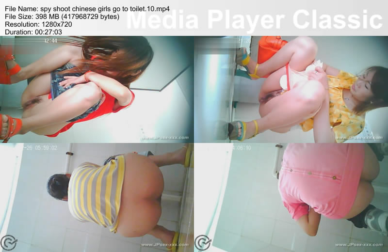spy shoot chinese girls go to toilet.10
