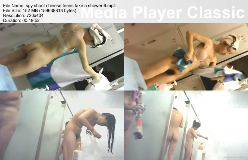 spy shoot chinese teens take a shower.6