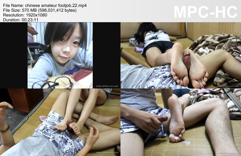 ... > Asian Amateur Self shot & voyuer Videos > Chinese Footjob - Page 1: http://jpsex-xxx.com/en/selfshot/genre/footjob_1.html