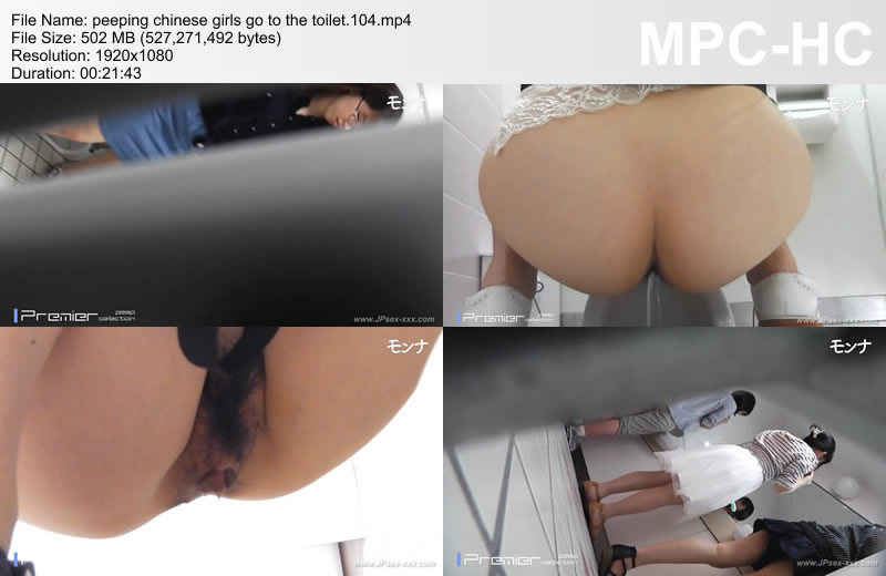 peeping chinese girls go to the toilet.104