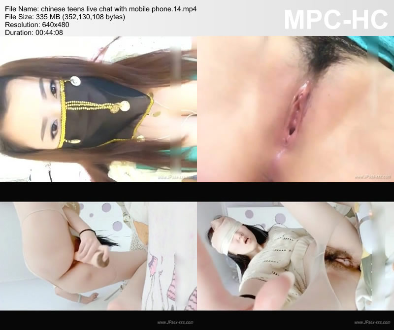 chinese teens live chat with mobile phone.14