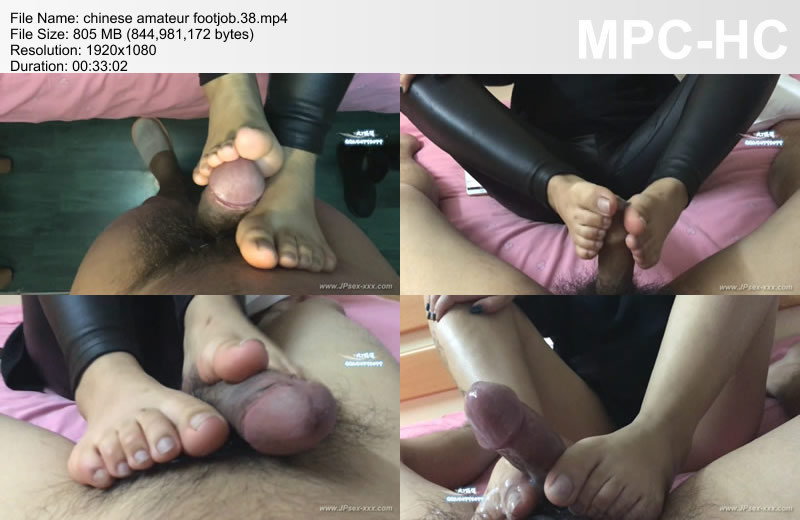 chinese amateur footjob.38