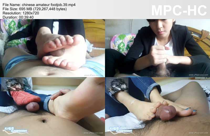 chinese amateur footjob.39