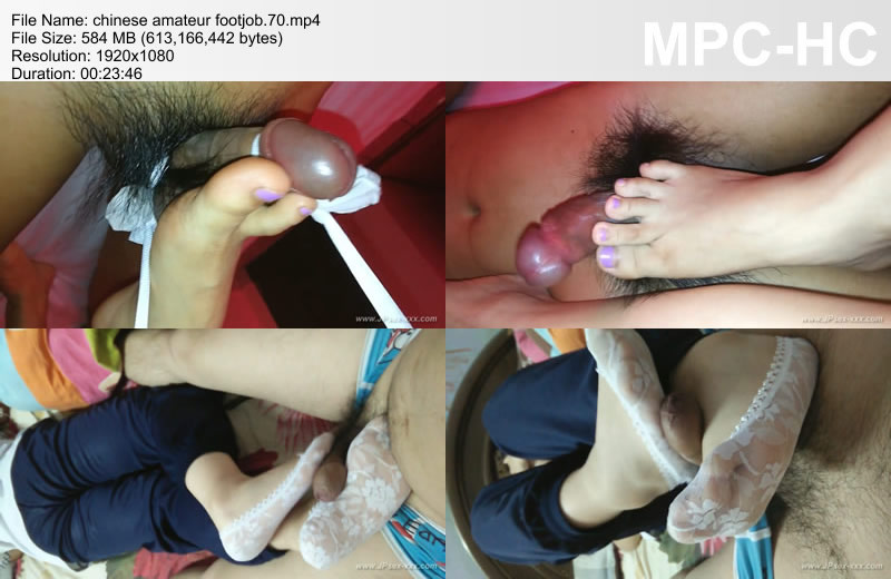 chinese amateur footjob.70