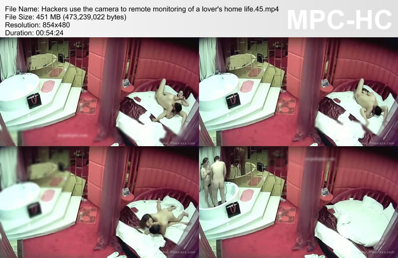 Hackers use the camera to remote monitoring of a lover\'s home life.45