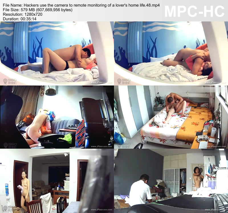 Hackers use the camera to remote monitoring of a lover\'s home life.48