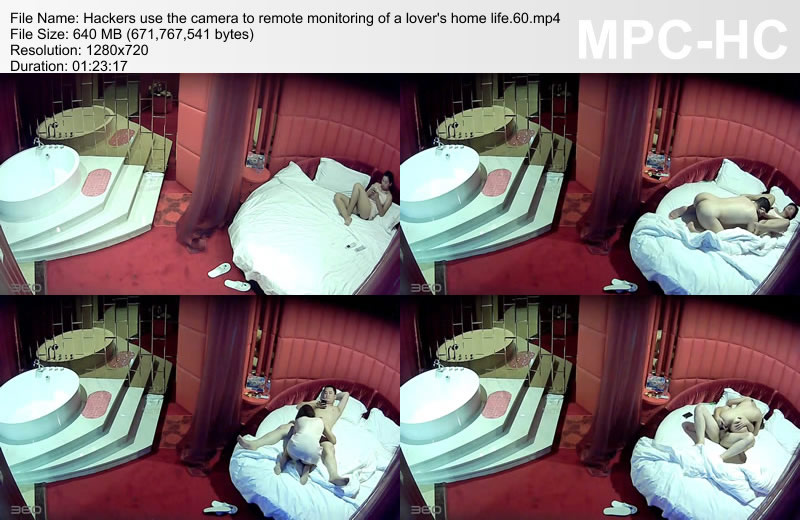 Hackers use the camera to remote monitoring of a lover\'s home life.60