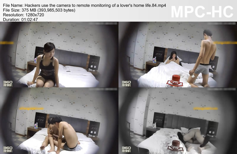 Hackers use the camera to remote monitoring of a lover\'s home life.84
