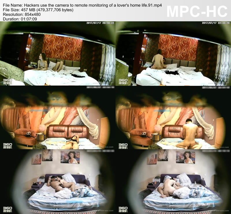 Hackers use the camera to remote monitoring of a lover\'s home life.91