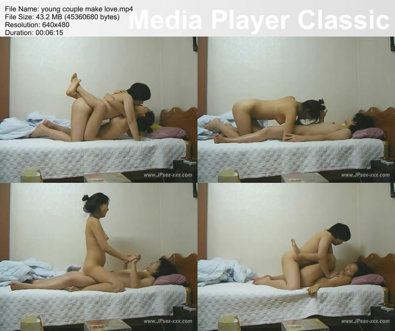 young couple make love