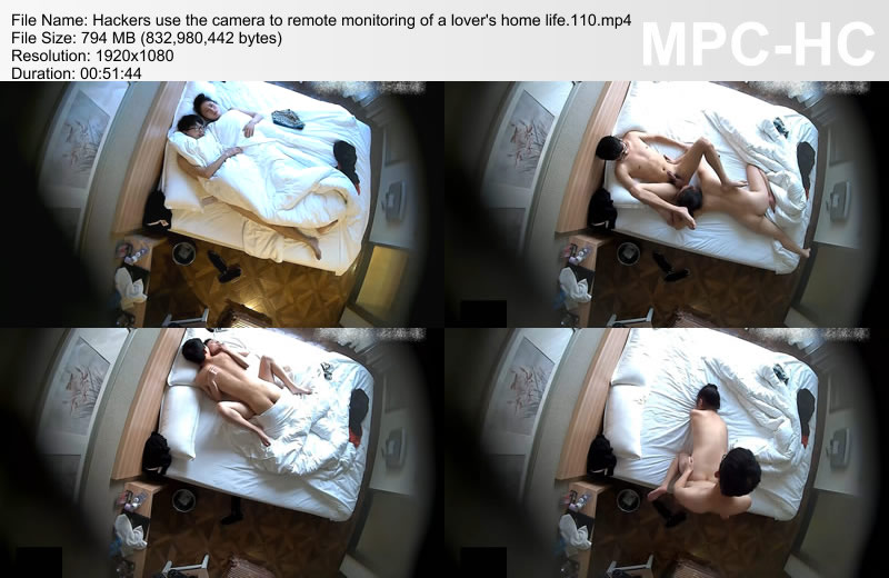 Hackers use the camera to remote monitoring of a lover\'s home life.110
