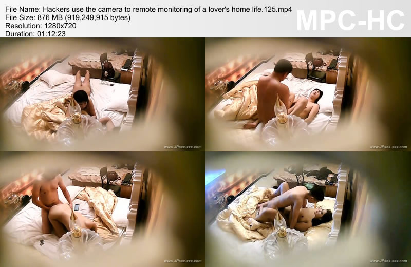 Hackers use the camera to remote monitoring of a lover\'s home life.125