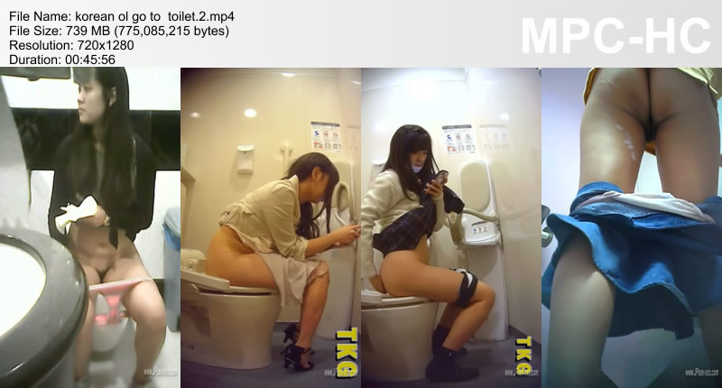 korean ol go to  toilet.2