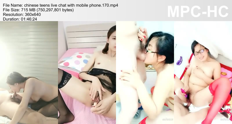 chinese teens live chat with mobile phone.170