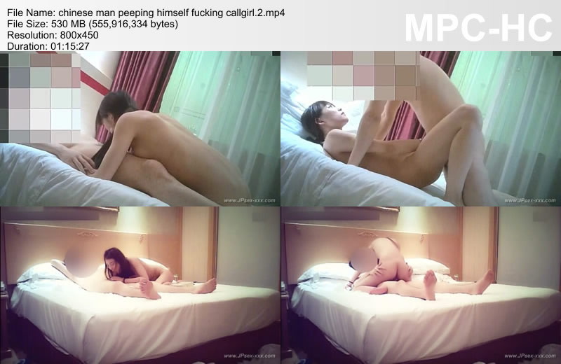 chinese man peeping himself fucking callgirl.2