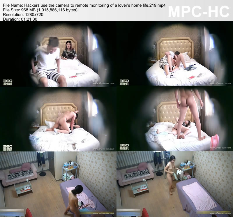Hackers use the camera to remote monitoring of a lover's home life.219