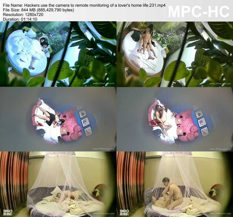 Hackers use the camera to remote monitoring of a lover's home life.231