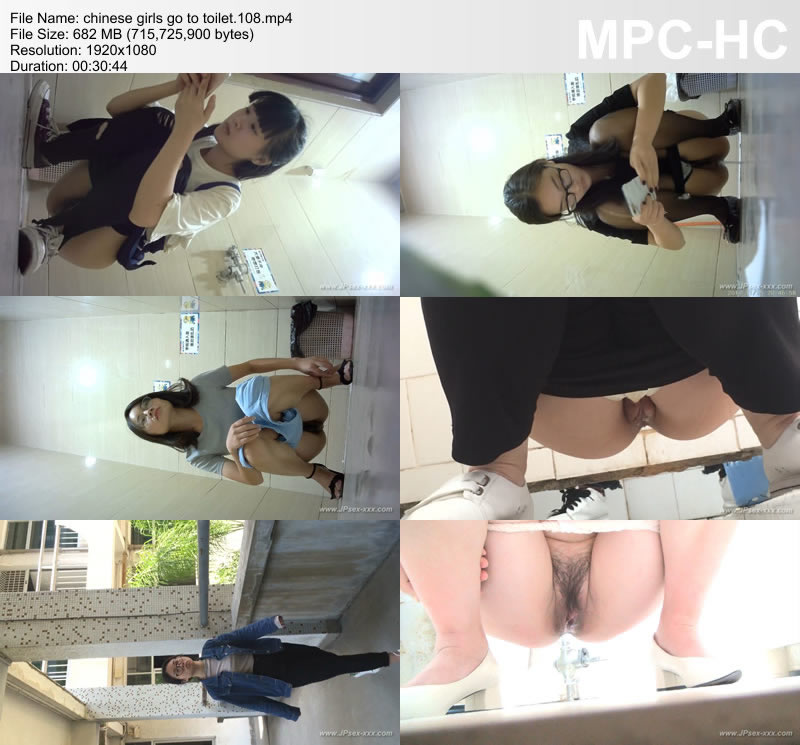 chinese girls go to toilet.108