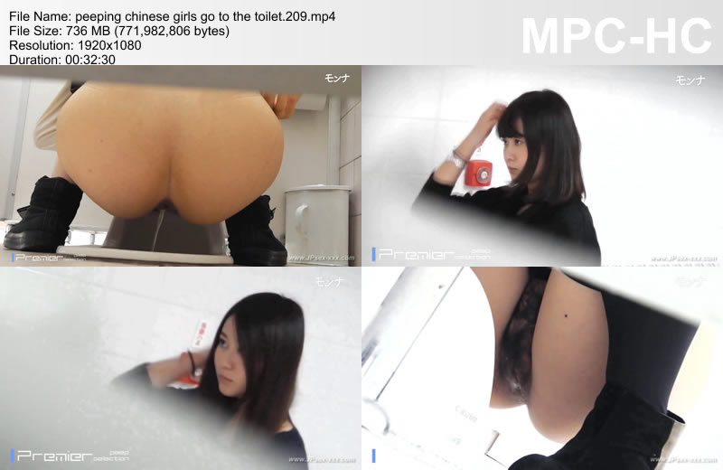 peeping chinese girls go to the toilet.209