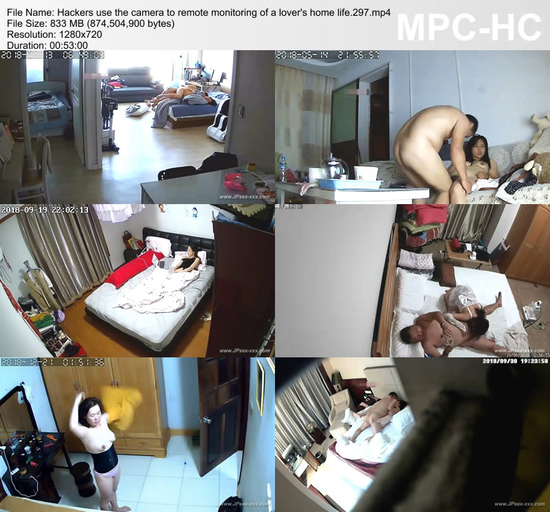 Hackers use the camera to remote monitoring of a lover's home life.297