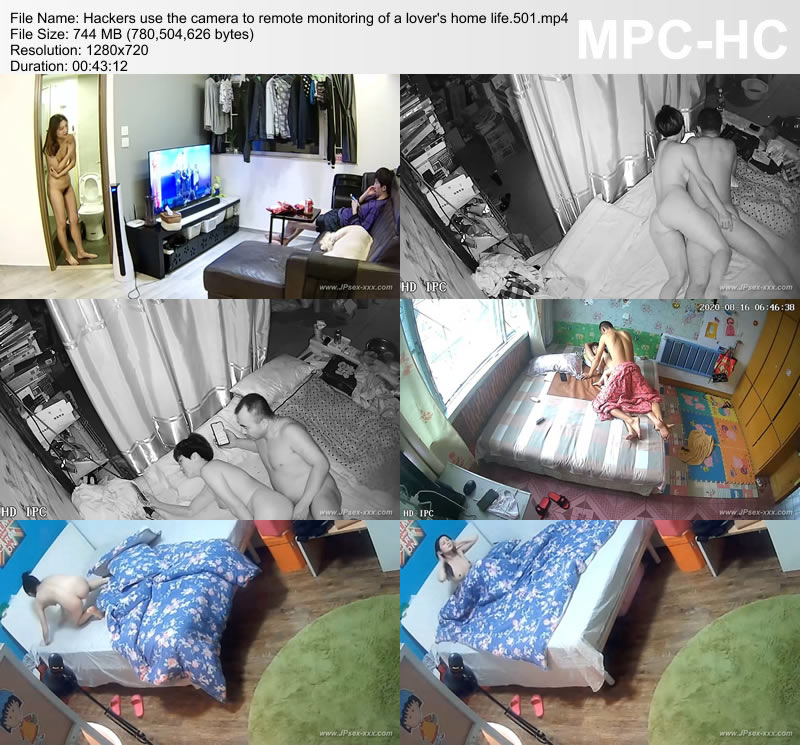 Hackers use the camera to remote monitoring of a lover's home life.501